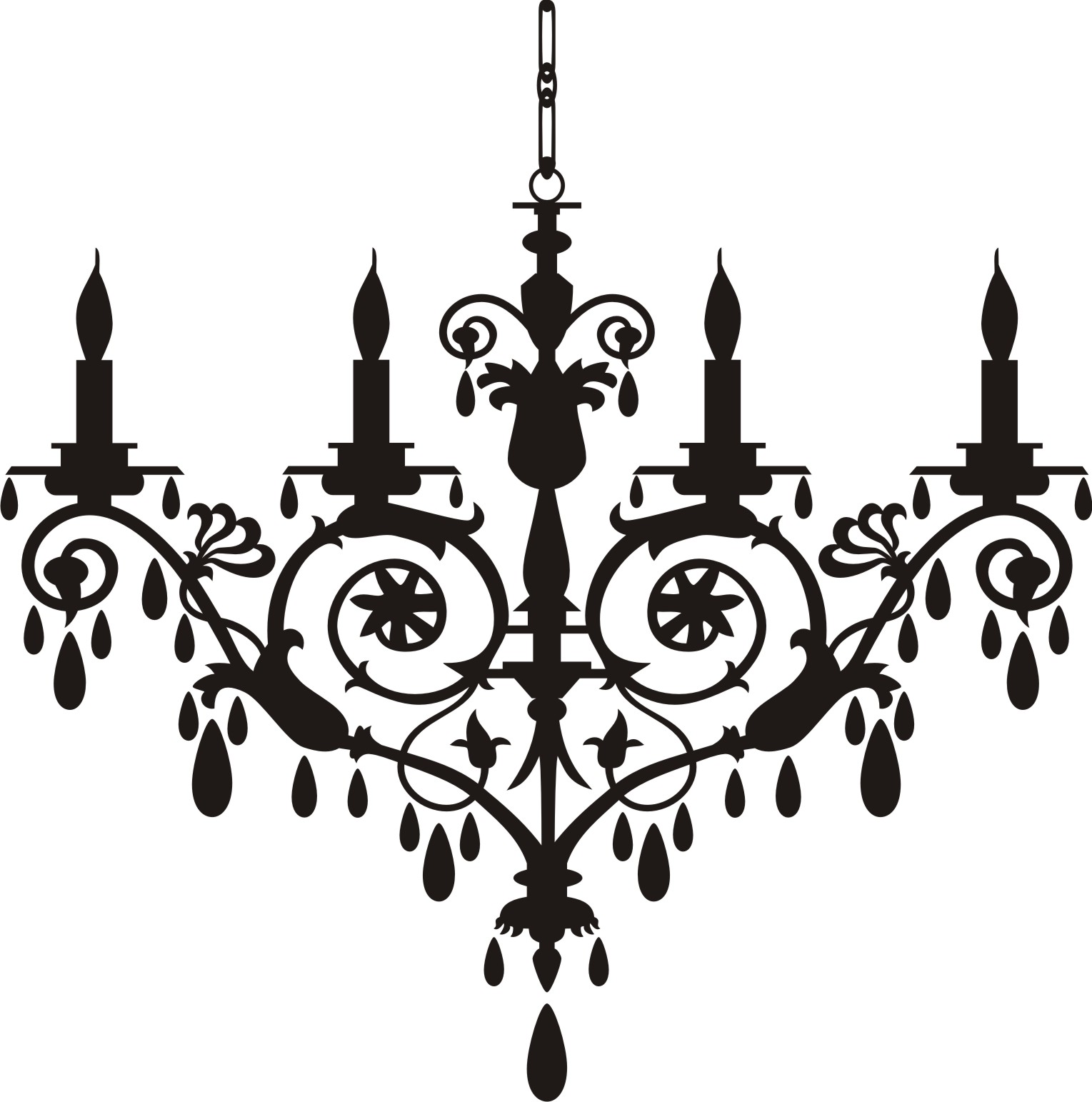 Chandelier decals for walls hd pictures